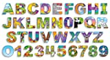 Illustrated Alphabet and Numbers Bulletin Board Set