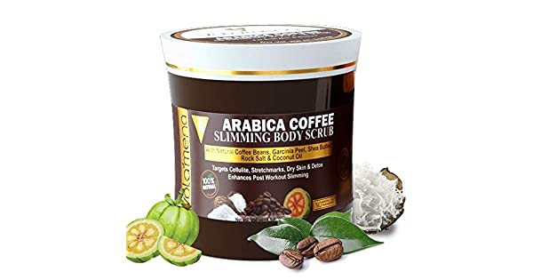 Amazon.com: Volamena Arabica Coffee Slimming Body Scrub, 250 ...