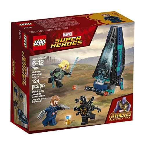 LEGO Marvel Super Heroes Avengers: Infinity War Outrider Dropship Attack 76101 Building Kit (124 Piece)