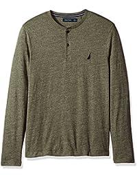 Men's Long Sleeve 3 Button Henley Shirt