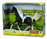 CollectA Half Arabian Stallion Pinto in Window Box (1:12 Scale)