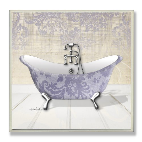 Bathroom Wall Art Uk Amazon: Purple Bathroom Wall Decor: Amazon.com