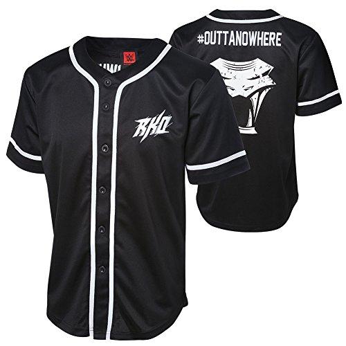 WWE Randy Orton Outta Nowhere Baseball Jersey Medium by WWE Authentic Wear
