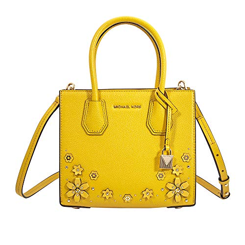 Michael Kors Yellow Handbag - 5