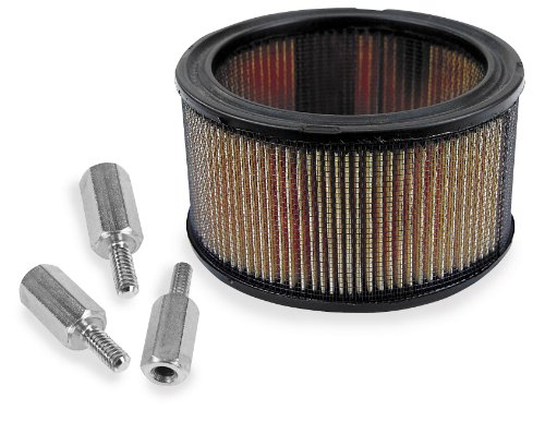 Super Flow High Performance Filters - S&S Cycle High-Flow Air Filter And Adapter Kit 17-0045