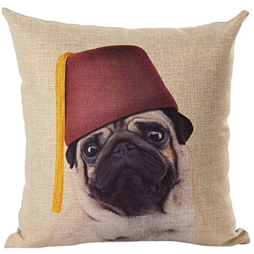 AOJIAN Home Decor Cushion Cover, Cute Dog Style Decorative Throw Pillow Covers Protectors Bolster Case Pillowslip