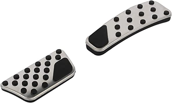 Aintier Anti-Slip Foot Pedal Pads Auto Aluminum Pedal Covers Accelerator /& Brake Foot Rest Foot Pedal Pads for 09 10 11 12 13 14 15 16 17 18 19 Dodge Challenger Charger Chrysler 300