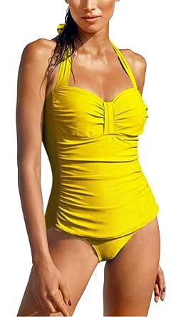 outlet store 4cfce 05ef9 Markenware Shape Badeanzug Tankini-Optik Gr. 44 Cup D gelb ...