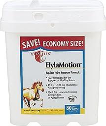 Vita Flex Hylamotion Powder Joint Supplement for Horse, 80-Day Supply, 2.5-Pound