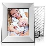 Nixplay Iris 8'' Wi-Fi Cloud Frame (W08E- Silver)