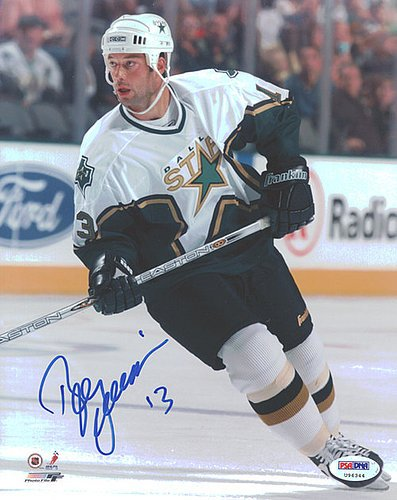 (Bill Guerin Signed 8x10 Photograph Stars - Certified Genuine Autograph By PSA/DNA - NHL Hockey Photograph)