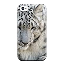 Hot New Snow Leopard Case Cover For Iphone 4/4s With Perfect Design