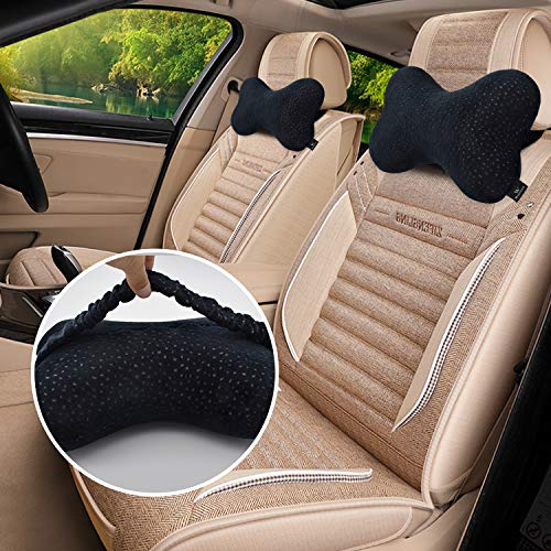 Windsleeping Latex Car Neck Pillow for Driving,Car Headrest Pillow,Car Seat Rest Neck Support Bone Pillow,360 Degree Excellent Car Cervical Support Pillow - ()