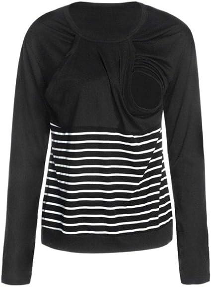 Leewa Maternity Sweatshirt Elegant Winter Clothing in Cotton Maternity Pullover Hoodie Chic