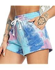 SEASUM Yoga Pantalones Sueltos Deportivos Ligero transipirable Bolsillo Mujer Entrenamiento Transpirables Elásticos cómodo Running