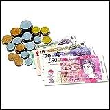 Deco Fleur Childrens Kids Play Money / Pretend Money Role Shops Cash £ Pound Notes Coins Toy