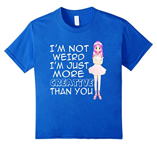 ANIME-INSPIRATIONAL-T-SHIRT-Graphic-Novels-Im-Not-Weird