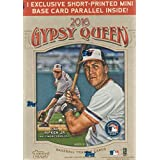 2016 Topps Gypsy Queen Series Unopened Blaster Box of Packs with One EXCLUSIVE Short Printed Mini Base Card Parallel plus