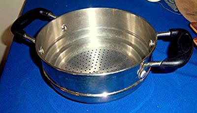 """Steamer Insert With lid for 8"""" Pot"""