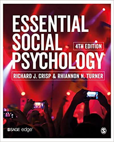 Essential Social Psychology, 4th Edition - Original PDF