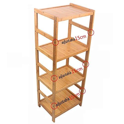 (ZZHF yushizhiwujia Storage Racks Floor-Standing Multi-Layer Kitchen Shelves Rice Cooker, Water Dispenser, Induction Cooker, Storage Rack (Size : 108.339.530cm))