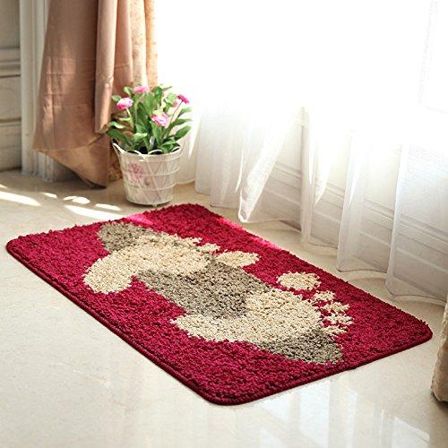 xxl Porte tapis de bain lit chambre tapis porte mat tapis anti-d¨¦rapant tampon absorbant , 3
