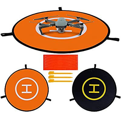 """Rovtop 30"""" (75cm) Landing Pad Quick-folding Quadcopter Launch Pad for RC Drone"""