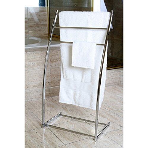 Pedestal Sink Towel Rack - 6