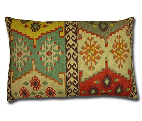 Cushions.co.uk Talish Kilim - Cojín, sandía (57 x 38 cm ...