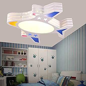 BGmdjcf Childrenu0027s Room Light Modern Minimalist Boys Aircraft Cartoon  Creative LED Ceiling Lamps Light Kids Rooms Lights Bedroom, LED36W Switch 4  Document ...