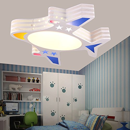 BGmdjcf Childrenu0027s Room Light Modern Minimalist Boys Aircraft Cartoon  Creative LED Ceiling Lamps Light Kids Rooms