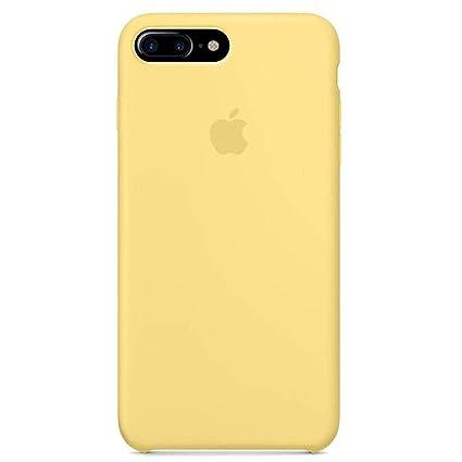 Amazon.com: Carcasa de silicona líquida para iPhone 7 Plus ...