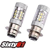 Sixty61 LED Headlight Bulb for Yamaha Raptor 125 250 350...