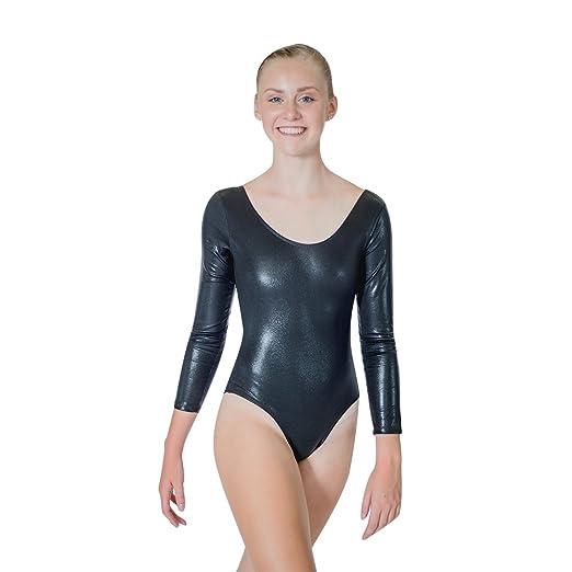 e6ffd6456f7a Amazon.com  HDW DANCE Ladies Gymnastics Leotard Bodysuit One-Piece ...