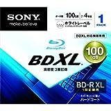 SONY Blu-Ray Disc - BD-R XL 100GB 4X - 1 Pack Printable - 2011 (japan import)