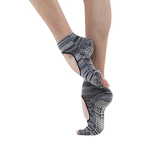 Calcetines de yoga Calcetines de Cinco Dedos sin Respaldo ...