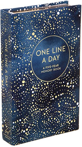 Celestial One Line a Day cover