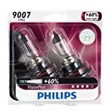 Philips 9007 VisionPlus Bulb, Pack of 2