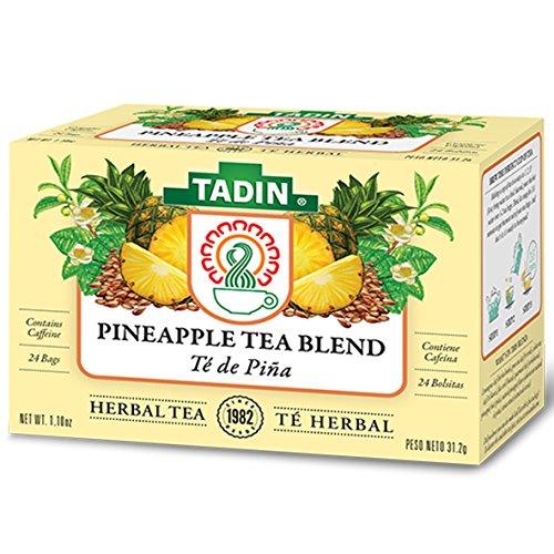 Tadin Herb and Tea Pineapple Diet Detox, 24 Count (Pineapple Tea)