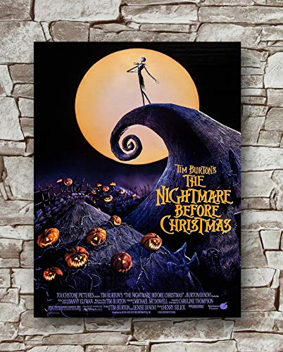 Huawuque The Nightmare Before Christmas Poster Standard Size   18-Inches by 24-Inches  The Nightmare Before Christmas Posters Wall Poster Print