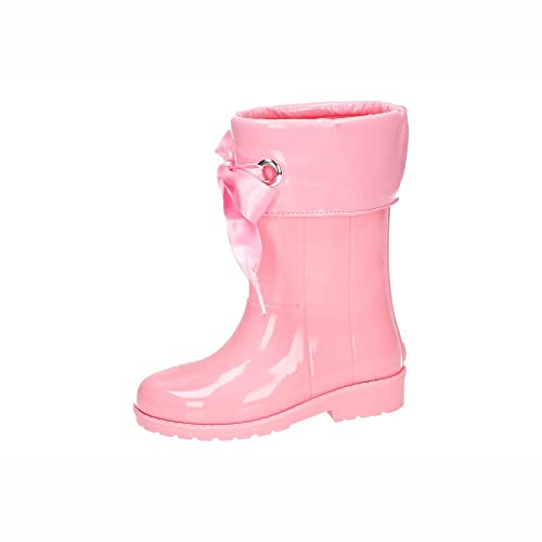 Chaussures Igor Chufo - Bottes En Caoutchouc Col Rose, Rose, Taille 20