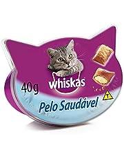 Petisco Funcional Para Gatos Whiskas Temptations Pelo Saudável Adultos 40g