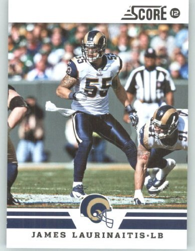 2012 Score Football Card #146 James Laurinaitis - St. Louis Rams (NFL Trading Card) ()