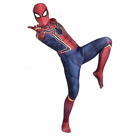gikmhyb Adulto Niño Increíble Traje De Spiderman Cosplay ...