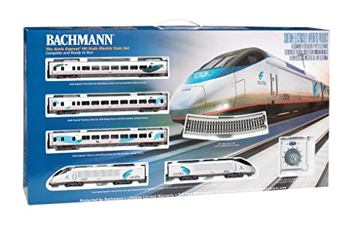 Bachmann Industries Acela Express DCC Ready To Run Electric Train Set (1:87 Scale) Acela Train Set