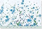 Blue Flowers Thank You Notes (Stationery, Note Cards)
