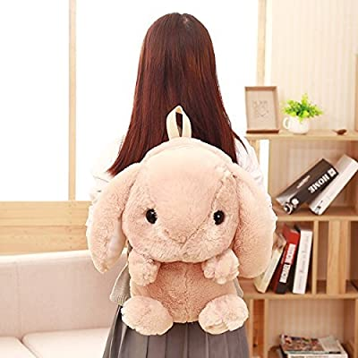 high-quality Cute Backpack Mini Plush Stuffed Rabbit Doll Backpack