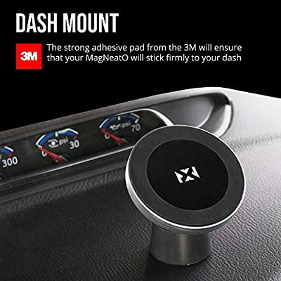 NVX MagNeatO - Magnetic car & Home Wireless Charger for Qi Certified Phone, Includes Vent + Dash/Desk mounts. Compatible with iPhone Xs Max/XR/XS/X/8+ Samsung Galaxy S10+/S10/S10e/S9/S9+/Note9 & More: Home Audio & Theater