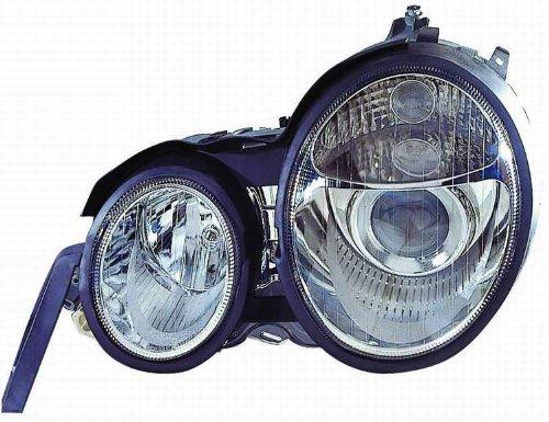 Depo 340-1117PXAS Mercedes Benz E Class Chrome Headlight Assembly Projector