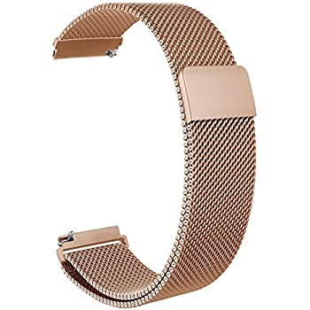 Galaxy Watch 42mm/Gear S2 Classic Band,ViCRiOR Quick Release Magnet Lock Milanese Loop Mesh Replacement Bracelet Bands Strap for Samsung Galaxy Watch ...